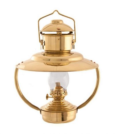 Brass Trawler Cabin Oil Lamp 12