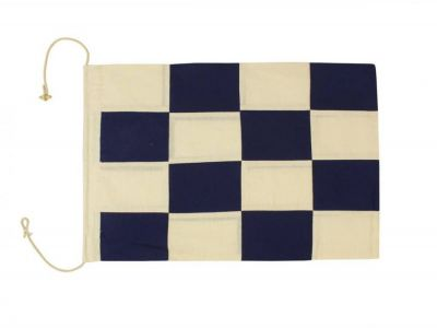 Letter N Cloth Nautical Alphabet Flag Decoration 20\