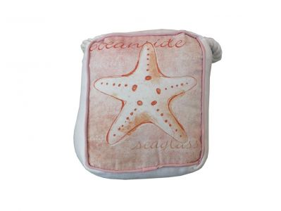 Red Oceanfront Starfish Doorstop 6