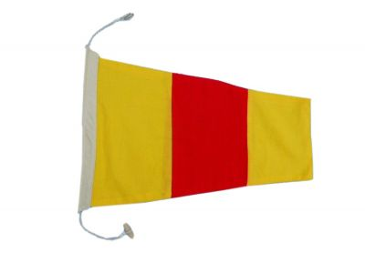 Number 0 - Nautical Cloth Signal Pennant - 20