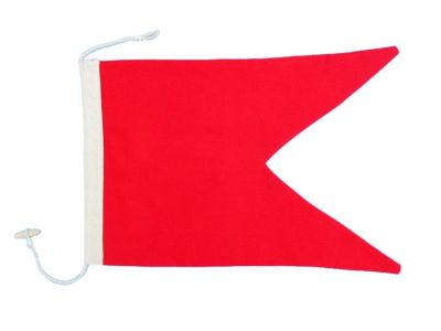 Letter B Cloth Nautical Alphabet Flag - 20