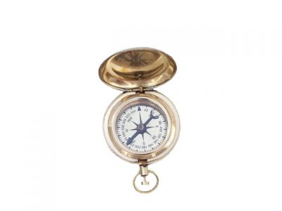 Brass Ship Scout\'s Push Button Compass 2\
