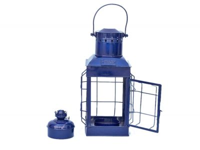Iron Chiefs Oil Lamp 19 - Blue