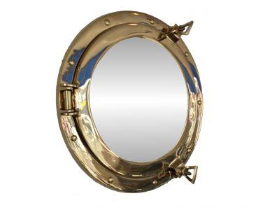 Brass Porthole Mirror 14