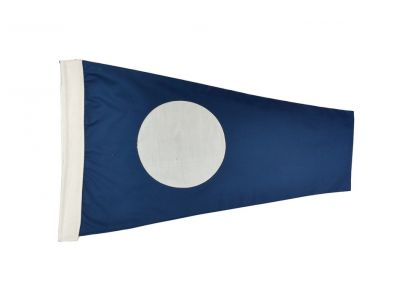 Number 2 - Nautical Cloth Signal Pennant - 20