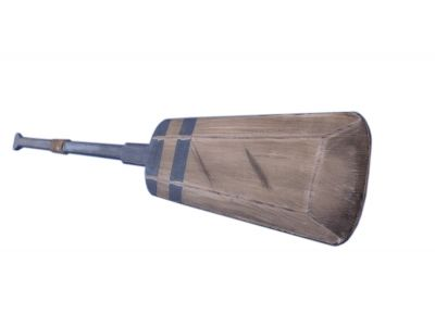 Wooden Rustic Blue Lake Squared Oar 50