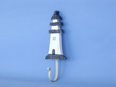 Wooden Lighthouse Wall Hook 9