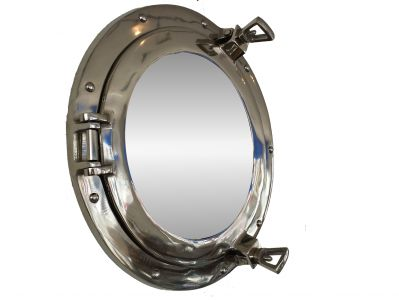 Deluxe Class Chrome Porthole Mirror 15