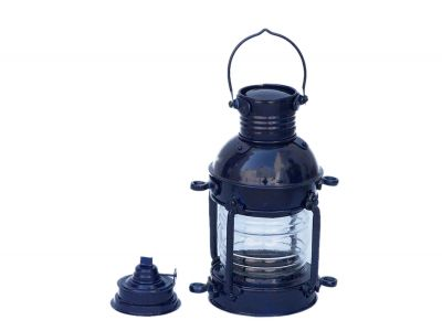 Iron Anchor Oil Lamp 12 - Dark Blue