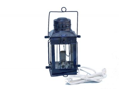 Iron Cargo Electric Lamp 11 - Dark Blue