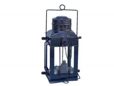 Iron Cargo Oil Lamp 11 - Dark Blue