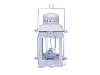 Iron Cargo Oil Lamp 11 - White
