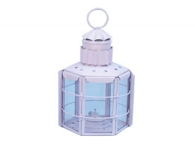 Iron Clipper Oil Lamp 15 - White