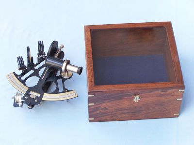 Black Sextant and Micrometer 10