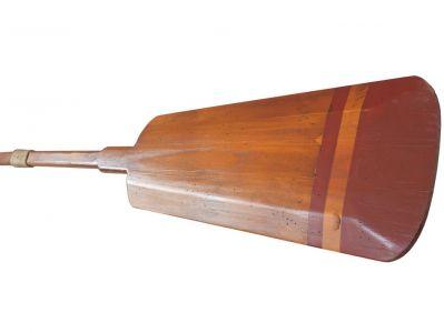 Wooden Santa Cruz Squared Rowing Oar w- Hooks 62