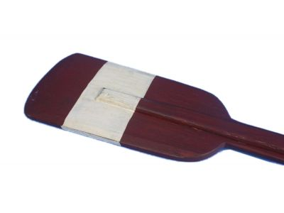 Wooden Chadwick Squared Rowing Oar with Hooks 50