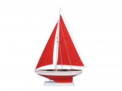 Pacific Sailer Red 25 - Red Sails