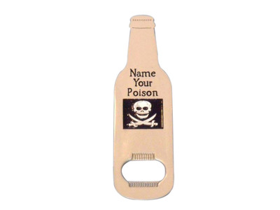 Name Your Poison Embossed Magnet Bottle Opener 5