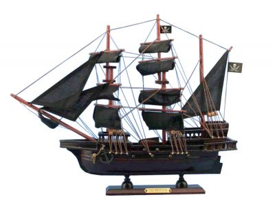 Wooden Calico Jack\'s The William Model Pirate Ship 14""
