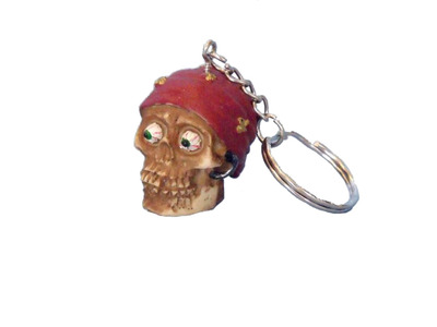 Pirate Head Key Chain 5