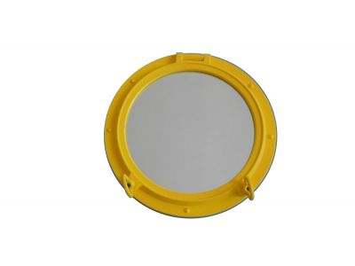 Yellow Porthole Window 20