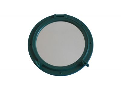 Seaworn Green Porthole Window 15