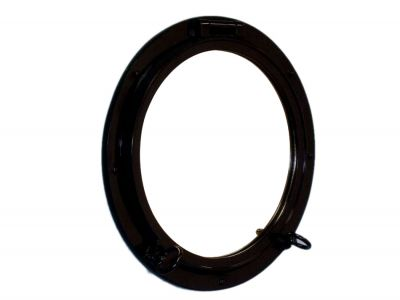 Gloss Black  Porthole Window 24