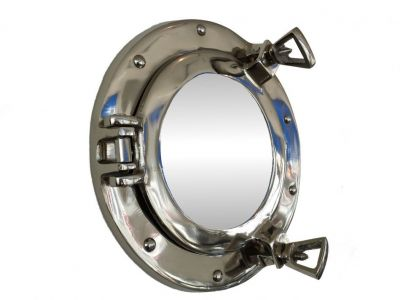 Chrome Deluxe Class Porthole Mirror 8