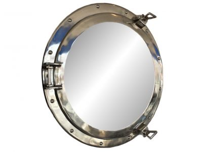 Chrome Decorative Ship Porthole Mirror 20\
