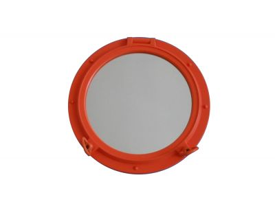 Orange Porthole Window 20