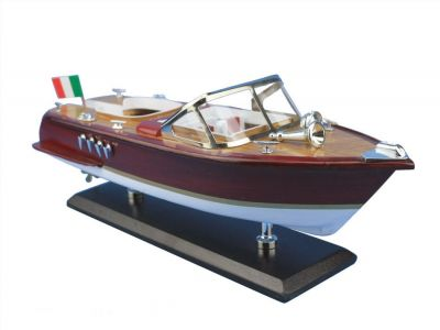 Wooden Riva Aquarama Model Speed Boat 14\