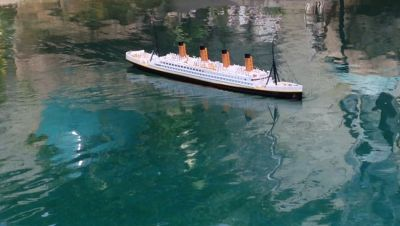 Ready To Run Remote Control RMS Titanic 32 with Lights
