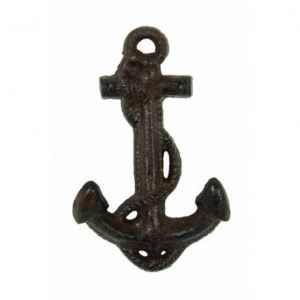 Rustic Cast Iron Anchor Key Hook 5