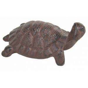 Rustic Cast Iron Turtle 5