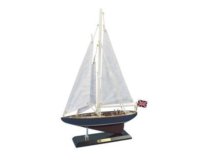 Wooden Endeavour Model Sailboat Decoration 16\