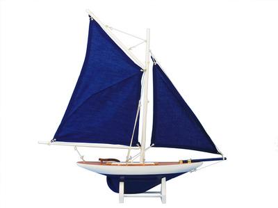 Americas Cup Contender Dark Blue 18 - Blue Sails
