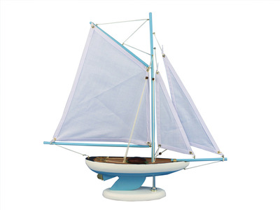Bermuda Sloop Light Blue 17