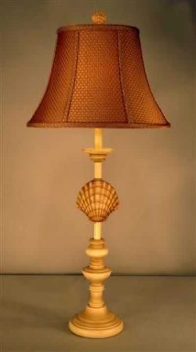 Scallop Shell Electric Lamp 33