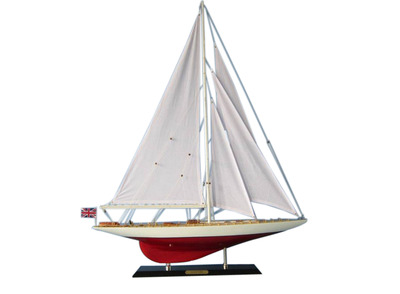Wooden Sceptre Limited Model Sailboat Decoaration 35""