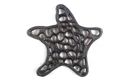 Cast Iron Starfish Trivet 7\
