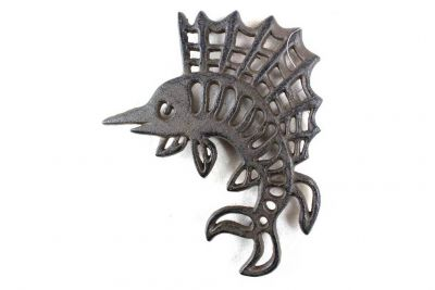Cast Iron Marlin Trivet 8\