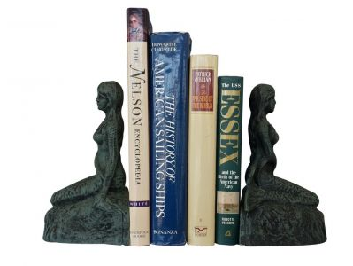 Seaworn Cast Iron Mermaid Bookends 8