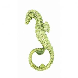 Solid Brass Seahorse Bottle Opener 4