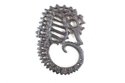 Cast Iron Seahorse Trivet 6\