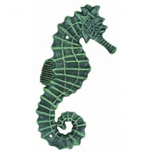 Seaworn Cast Iron Seahorse Wall Decor 11