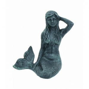 Seaworn Cast Iron Mermaid Paperweight 7