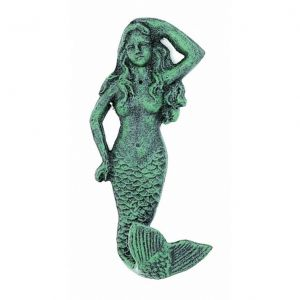 Seaworn Cast Iron Mermaid Key Hook 6