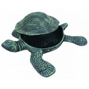 Seaworn Cast Iron Turtle Hide A Key 10