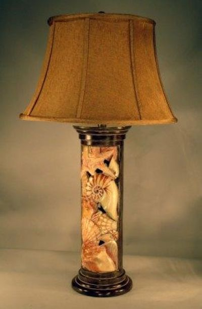 Shell Column Electric Lamp 32