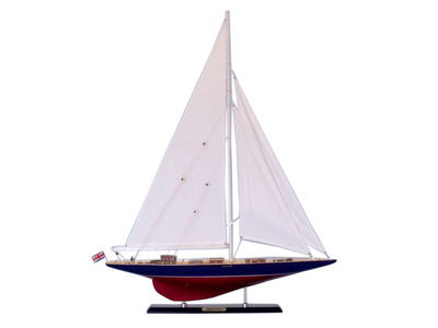 Wooden Endeavour Limited Model Sailboat Decoration 35\